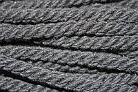 Канат декоративный ХБ 8мм (50м) черный