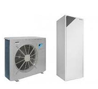 Тепловой насос воздух-вода  Daikin Altherma (модели в диапазоне от 4  до 16 кВт) EHVZ-CB3V + ERLQ-CV3/ERLQ-CW1