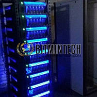 Серверный шкаф на 80 видеокарт SAPPHIRE 570 4g 2400 MH /s