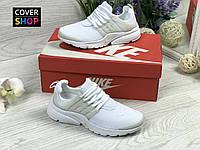 Кроссовки женские Nike Air Presto, белые, материал - текстильная сетка