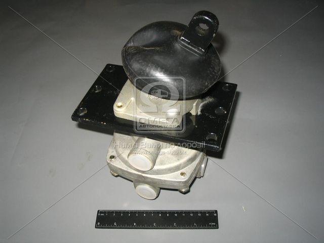 Кран тормозной  2-секционный КАМАЗ   . 100.3514008-02. Ціна з ПДВ.