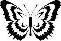 Виниловая наклейка - Бабочка (1) (от 10х10 см)