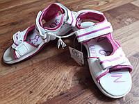 Сандалии на липучках для девочки размер 34, 18-36 Ю