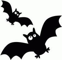 Виниловая наклейка - Летучие мыши