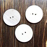 Пуговица деревянная 5см, фото 1