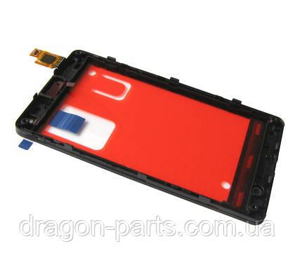 Тачскрин Microsoft Lumia 435 сенсорная панель оригинал , 00813L3, фото 2