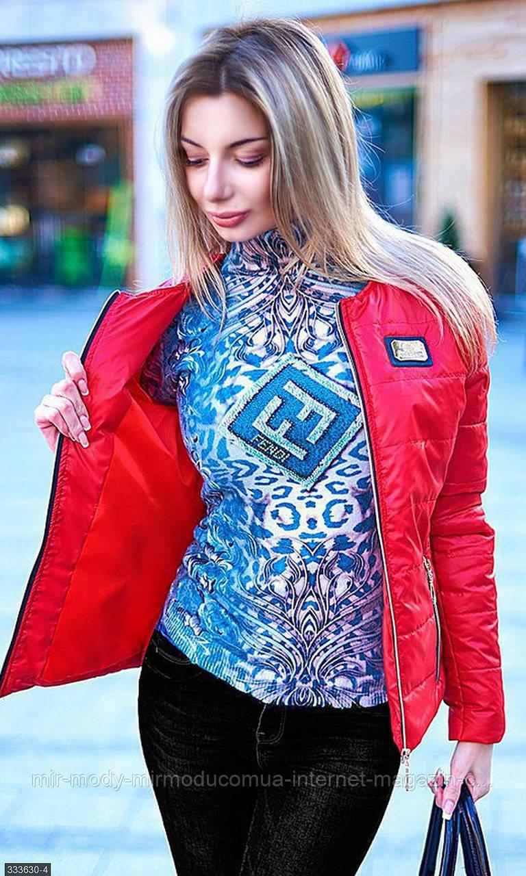Куртка 333630- 4 красный Весна 2018 Украина мш