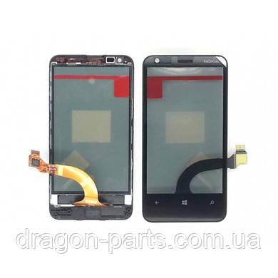 Тачскрин Nokia Lumia 620 сенсорная панель оригинал , 00808W4, фото 2