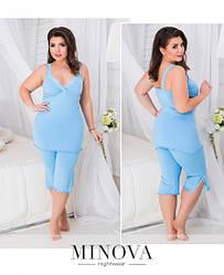 Пижамы женские большого размера