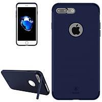 Baseus Чехол с откидной подставкой для Iphone 7 plus (синий)