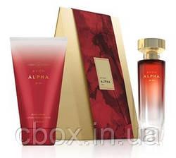 Парфюмерно-косметический набор женский  Avon ALPHA , Эйвон Альфа, 75647