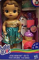 Кукла Baby Alive Cupcake Birthday ОРИГИНАЛ Hasbro США Беби Элив