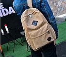 Рюкзак мужской хаки Коледж., фото 4