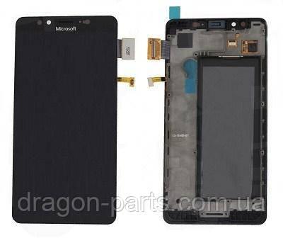 Дисплей Microsoft Lumia 950 Dual Sim с сенсором (модуль) оригинал , 00814D7