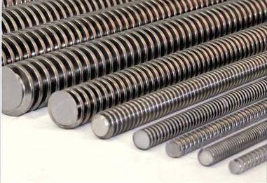 Трапецеидальные винты TR10X3X1000 (диаметр - 10 мм, шаг - 3 мм, длина - 1000 мм)