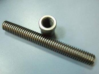 Трапецеидальные винты TR10X3X1000 (диаметр - 10 мм, шаг - 3 мм, длина - 1000 мм), фото 2