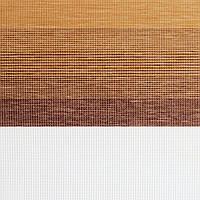 Рулонные шторы День-Ночь Ткань Капри Z-123 Охра