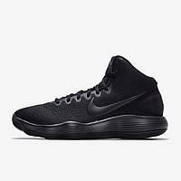 Баскетбольные кроссовки  Nike HyperDunk 2017 Triple Black, фото 1