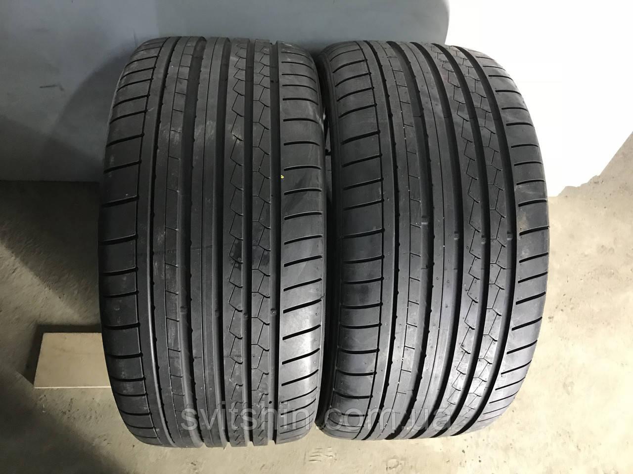 Шини бу літо 285/30R21 Dunlop SP Sport Maxx GT 8мм (2017 рік)