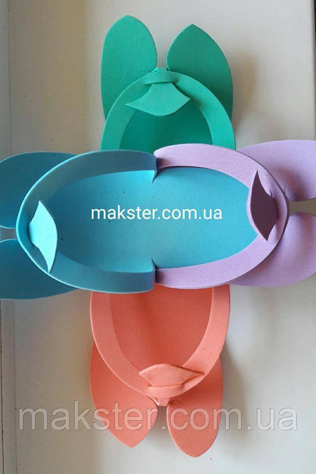 Тапочки одноразовые Colorful (12 пар)