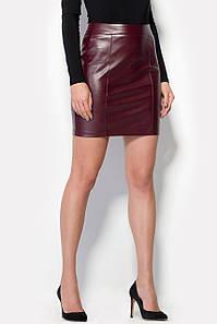 Женская короткая юбка из качественного кожзама (Veste crd)
