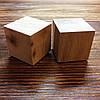 Кубики деревянные 2,5см 2шт Ольха