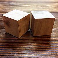 Кубики деревянные 2,5см 2шт Ольха, фото 1