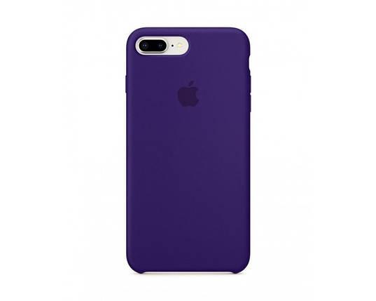 Силиконовый чехол для iPhone 6 Plus фиолетовый, фото 2