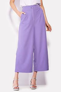 Широкие женские укороченные брюки (Floks crd)