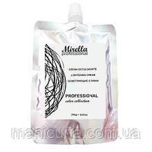 Осветляющие крем-сливки для волос Mirella Lightening Cream, 250 мл