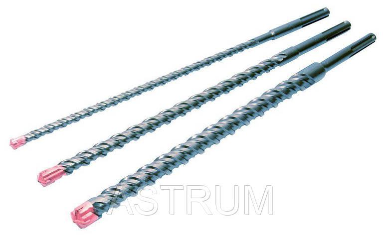 Сверло для бетона SDS-Max Quattro S4 24 х 1000 мм Granite 4-24-100, фото 2