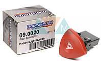 Кнопка аварийной сигнализации Renault Trafic / Opel Vivaro 01-
