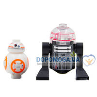 Минифигурка Imperial Astromech Droid and BB-8