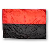 Флаг ОУН-УПА , прапор ОУН-УПА , полиэстер , 110×70 см.