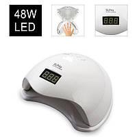 LED+UV лампа для манікюру SUN 5 48W. Оригінал!