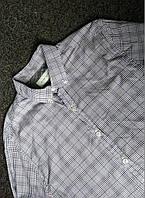 Мужская рубашка с длинным рукавом в клетку river island р-р L Оригинал (сток, б/у) original