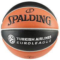Мяч баскетбольный Spalding TF 1000 Euroliga 7