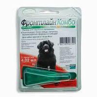 Фронтлайн (Frontline) КОМБО СПОТ ОН XL Merial монопипетка для собак от 40 до 60кг (1 пипетка)