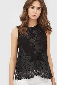 Женская блуза-топ с кружевом (Miks crd)