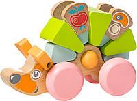 Деревянная игрушка Cubika Ежик, LK-9, 004725
