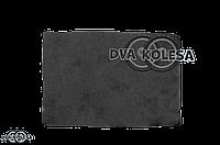 Фильтр воздушный  заготовка  300-200mm  поролон, сухой, черный