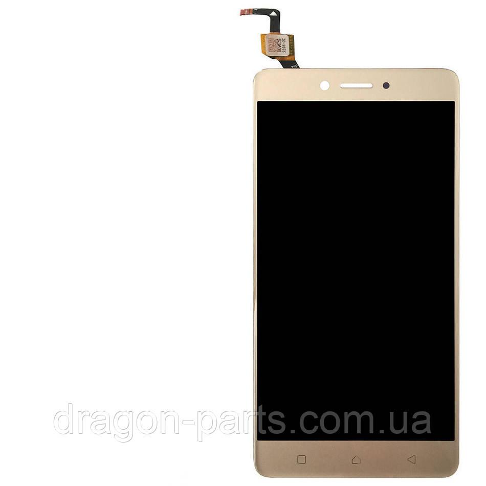 Дисплей Lenovo K6 K33a48  с сенсором золотой/gold , оригинал 5D68C06297