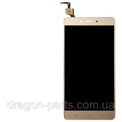 Дисплей Lenovo K6 K33a48  с сенсором золотой/gold , оригинал 5D68C06297, фото 2