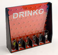 """Игра настольная для взрослых """"Drinko"""" 28x7x25.5см (в наборе 6 стопок)"""