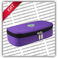 Чехол с термометром +4 до +24 °C для хранения инсулина (фиолетовый), фото 1