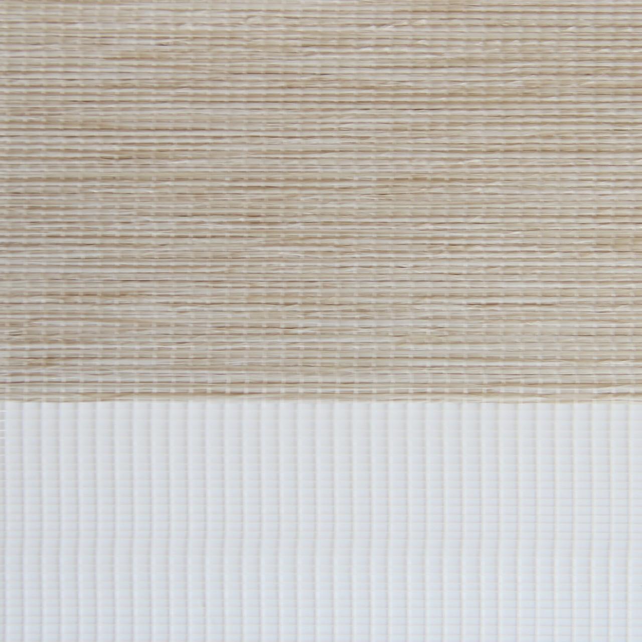 Рулонные шторы День-Ночь Ткань Болонья Z-202 Бежевый