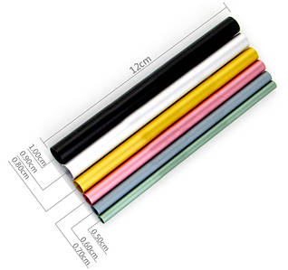 Трубочки для С-вигину, 6 шт в упаковці (різнокольорові)