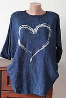 Блуза кимоно сердце - 2