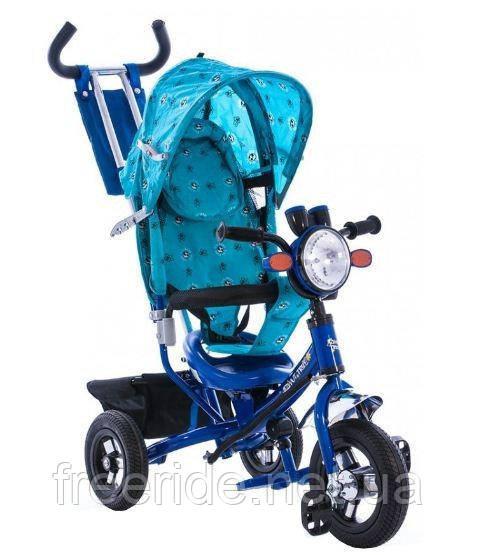 Детский трехколесный велосипед Azimut BC-17B +фара AIR (Лексус)