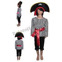 Детский костюм Пирата рост 128